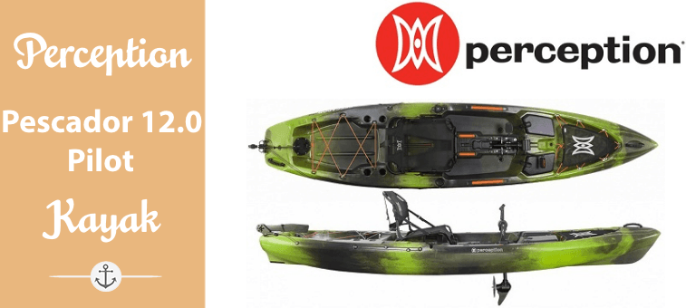Perception Pescador 12.0 Pilot Kayak Featured