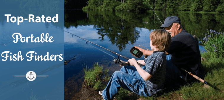 Top Rated Portable Fish Finders Featured