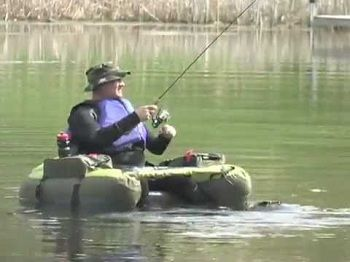 Cumberland Inflatable Fishing Float Tube 2