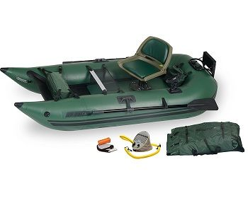 Sea Eagle 285 Inflatable Frameless Fishing Pontoon Boat - Pro Package 1