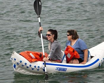 Sea Eagle SE370 Inflatable Kayak 2
