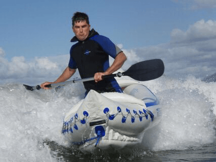 Sea Eagle SE370 Inflatable Kayak 3