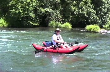 Skagit Inflatable Pontoon Boat 01