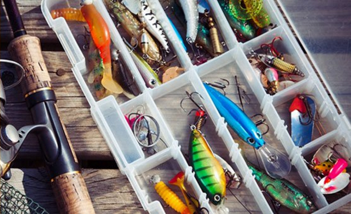 Different Fishing Lures